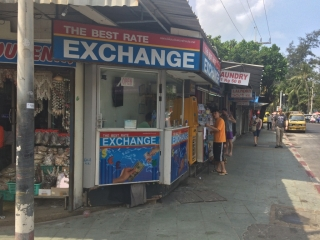 The best rate exchange - corner Bangla / Thawewong - Get4x